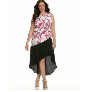 Lane Bryant 6th & Lane HiLo Sleeveless Dress Sz 28